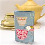 """TEA PURSE """"Tilda Tea Cups"""""""