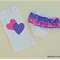 Girl's Pink and Purple Ruffle Nappy Cover Set - Size 000 (35)