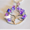tree of life, white duck, necklace