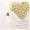 custom wedding card gift boxed cream paper roses keepsake personalised