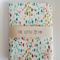 Cot Crib Fitted Sheet in Paint Drops