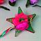 Garden fairy ribbon star wands