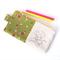 Kawaii Pencil Case // Stationery Zipper Pouch - Learning Mushroom Head