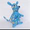 Kangaroo & Joey with cute blue Australian animal print