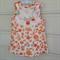 Upcycled girls shift dress. Size 3 - 4