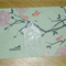 With Sympathy bereavement card - handmade