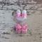Rose Infant 2cm Hair Clip Set