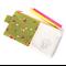 Kawaii Pencil Case // Stationery Zipper Pouch - Sleepy Mushroom Head