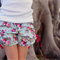 """Country Roses """"Little Miss Fancy Pants"""" Shorts ~ Blue Pink floral Size 2-5"""