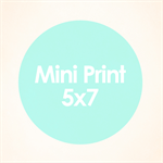 Your choice of print in 5x7 size