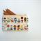 Zippered Pouch Cute Dolls - Pencil Case, Makeup Bag, Storage Bag - Linen/Cotton