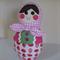 Strawberry Babushka Doll