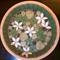 Flower water dish/bird bath: unique mosaic design