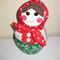 Christmas Babushka Doll