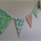Butterfly & Daisy Bunting Flag