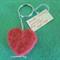 Heart Key Ring/Bagtag Christmas Stocking Filler/Teacher Gift