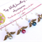 "Crochet Stitch Markers "" Angel "" set of four Handmade Original by Top Shelf"
