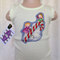 Christmas lemon baby singlet, tank top, candy cane, angels painting clouds
