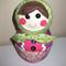 Hibiscus Babushka Doll