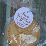 12 Fresh Baked Just for You Tags ~ Home baked goods tag