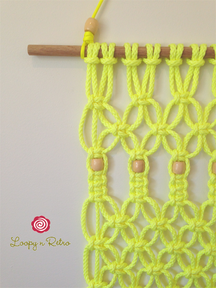 Modern Macrame Wall Hanging (Knotted Rope, Wall Art, Retro, Home ...