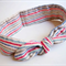 Tie Up Head Band - Dot in Green -