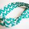 Tie Up Head Band - Little Birds Green -