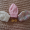 * SPECIAL* 3 beanies and detachable bow; Size 0-6 months, knitted, washable