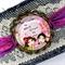 Lace & Denim Cuff Bracelet - free postage - sisters by soul
