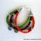 Three Strand Magnesite Aspirational Bracelet – Nature