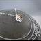 Cherry blossom sterling silver necklace handmade flower pretty dainty simple