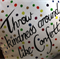"""Hand Painted Confetti 14"""" Cushion Cover"""
