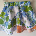 Upcycled Little Lady Skirt. Size 1,2,3,4.