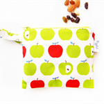 Snack Bag with a Pop Button - Green Apple