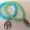 Blue and Green bracelet Set