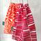 Hand printed drawstring bag // Travel bag // Drawstring tote // Shoe bag