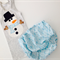 Snowman, appliqué, boy, unisex, singlet and nappy cover set