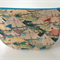 lined zipper pouch / purse (large)  {circus tents}