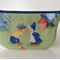 lined zipper pouch / purse (small)  {kissing cuties}