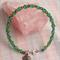 Czech Glass & Crystal Bicone Beaded Bracelet