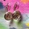 Vintage sheet music Earrings