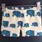 Elephant Print shorts Size 1-8