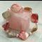 Shell & Pink Pearl Stretch Bracelet