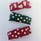 3pk Christmas mixed baby/toddler snap hair clips