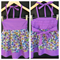 'Elise' Dress' in Springtime Flowers' with lavender Size 1