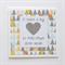 Teacher Card - Teacher Gift 'It takes a big heart' triangles geometric glitter
