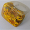 Real  yellow daisies clear resin RING SZ M