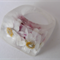 Real paper daisies clear resin RING SZ M