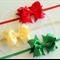 Set of 3 - Christmas Headbands for Girls / Baby