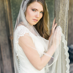 Mantilla Veil, Wedding Veil, Circle Veil, Drop Veil, Bridal Veil, Chantilly Lace